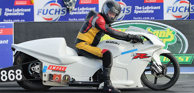 Scott White - Pro Stock Bike