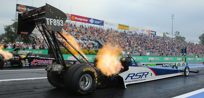 Steve Read - Top fuel