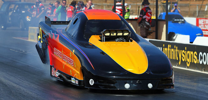 Steve Reed - Top Alcohol Funny Car
