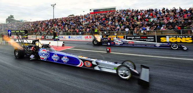 Fuchs Lubricants has thrown their support behind a second Top Fuel car