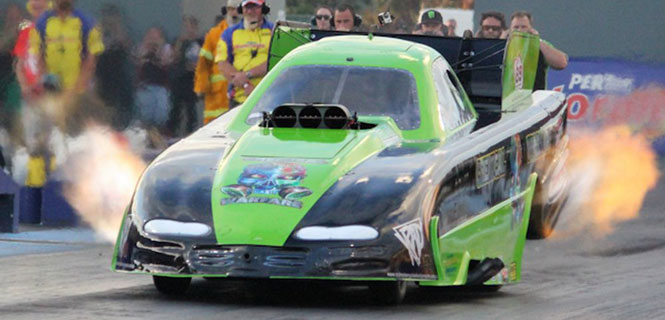 Anthony Begley  - Nitro Funny Car